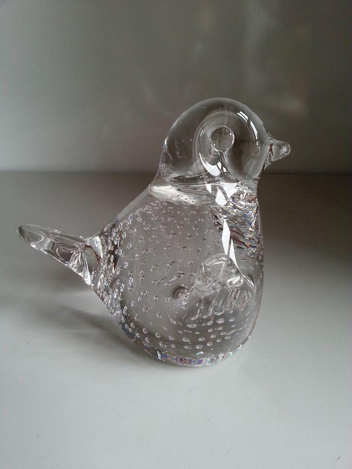 Glas, Brevpresser - Holmegaard - Fugle