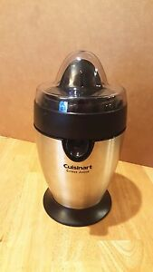cuisinart citrus juicer brushed stainless series cjp 200 ebay rh ebay com cuisinart pulp control citrus juicer manual cuisinart citrus juicer parts