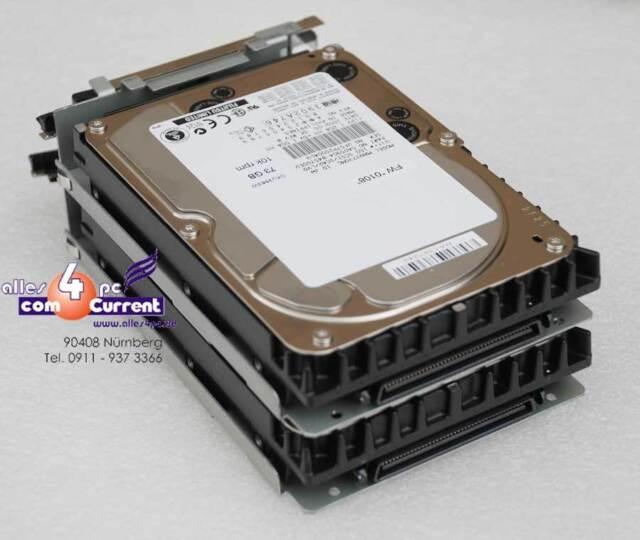 FESTPLATTE 73 GB FUJITSU MAN3735MC CA05904-B45700EU SCSI SCA HDD OK #K736