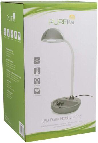 PureLite Hobby sol table lampe de bureau /& Loupe Lampes Ampoule Craft Swing