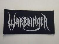 WARBRINGER THRASH METAL WOVEN PATCH