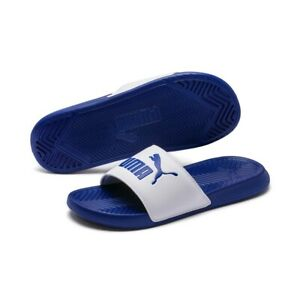 puma blue slippers - OFF65