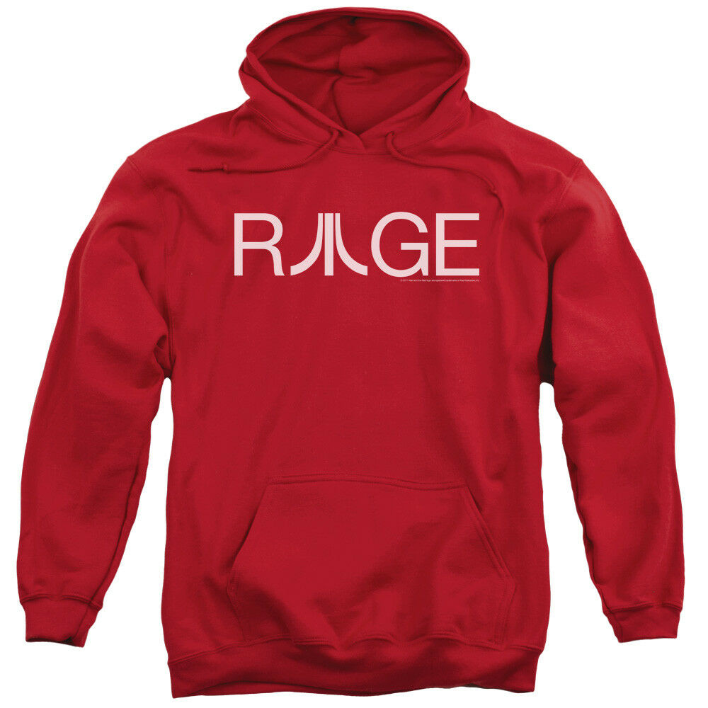 Atari Hoodie Rage Logo ROT Hoody