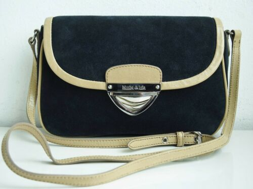 bimba u lola womens handbag suede leather