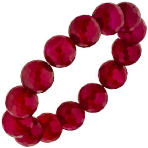 Armband-Achat-brombeer-rot-19-cm-Achatarmband-Edelsteinarmband-elastisch