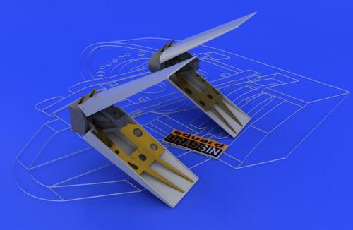Resin Bausatz Eduard Accessories 648039-1:48 F-16 Air Brakes For Tamiya Ne