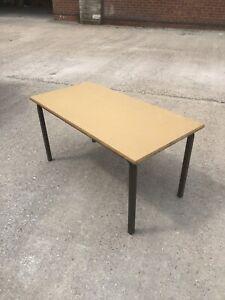 Job-Lot-8-Vintage-Retro-Formica-Top-School-Tables-Nursery-Playgroup-Crafts