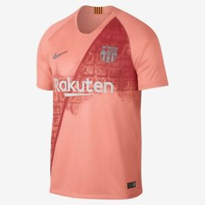 Image is loading Nike-FC-Barcelona-Official-2018-2019-Third-Soccer- c16e6bb91