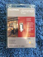 Lutron Dimmer 3-way
