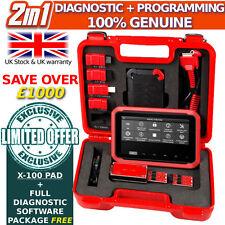 2in1 programador XTOOL X-100 pad, codificación de diagnóstico completo, herramienta de restablecimiento, OBD2 Auto Diag