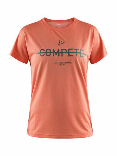 CRAFT EAZE MESH Damen Sporthemd Laufshirt Kurzarm T-Shirt Jersey Funktionsshirt