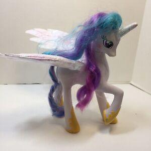 Princess Celestia My Little Pony G4 Friendship Is Magic Talking 9 Figure Works Ebay