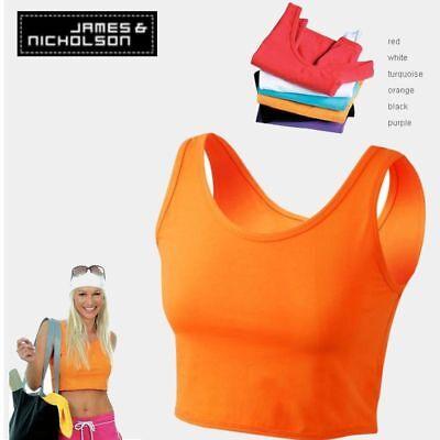 J./&Nicholson Marken DAMEN Neckholder Top Shirt NEU in WEISS ROT in L