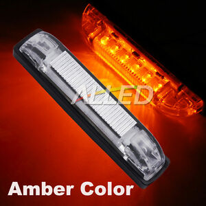 12v dc amber color led cabin strip light car rv boat interior exterior trailer ebay. Black Bedroom Furniture Sets. Home Design Ideas