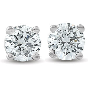 1-3-ctw-14k-White-Gold-Diamond-Stud-Earrings