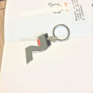 Llavero-para-Hyundai-I30-i30-n-metalico-cromado-portachiavi-keychain
