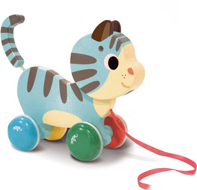 Vilac Vilac4607 Marcel The Cat Pull Toy by Melusine