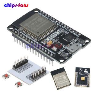 Espressif ESP-WROOM-32 ESP 32 ESP 32S IoT Wifi Wlan BLE Module mit Adapter Board