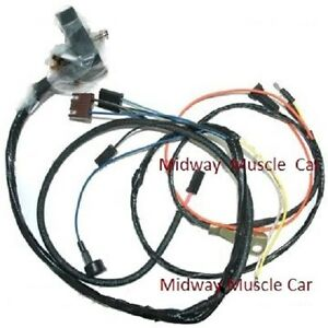 engine wiring harness 68 chevy camaro ss 302 327 350 w lights rs image is loading engine wiring harness 68 chevy camaro ss 302