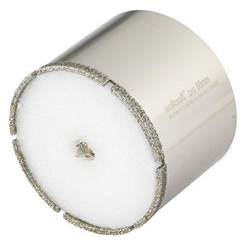 Wolfcraft 1 Diamant-Lochsäge Ceramic mit Schwamm 10mm Schaft Zubehor NEU