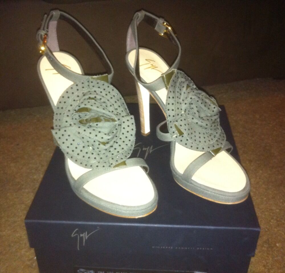 Brand New- Giuseppe Zanotti Summer ITALY 2008 Schuhes MADE IN ITALY Summer (US 7.5, Euro 38) d47834