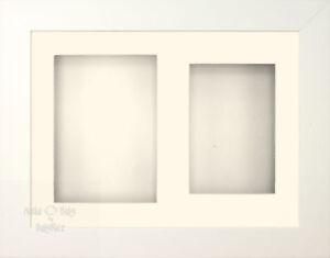 BabyRice-29-2x21-6cm-BLANC-3D-Cadre-d-039-affichage-2-Orifices-Creme-Support