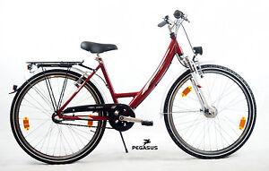 CHICO-BICICLETA-Pegasus-Avanti-26-PULGADAS-Shimano-3G-Nexus-Rojo-44cm
