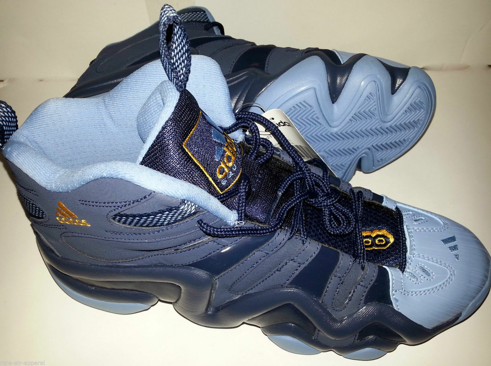 ADIDAS CRAZY 8 KOBE MEMPHIS GRIZZLIES Nuggets Nuggets Nuggets BLUE/GOLD BASKETBALL SHOES 9f96c9