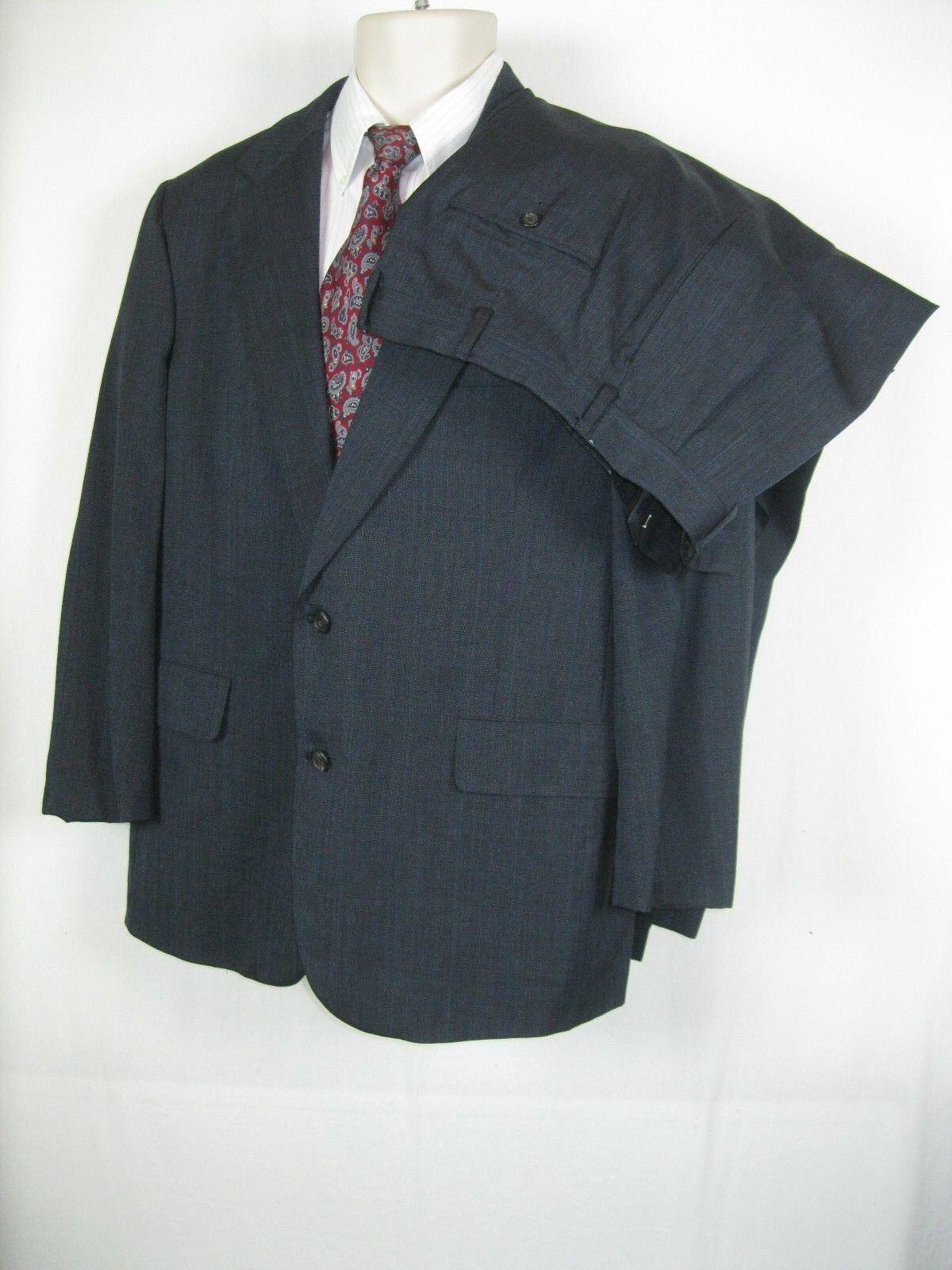 Brooks Brothers  Herren grau Blau Wool Light Weight  Blazer Größe 41 Pants 35