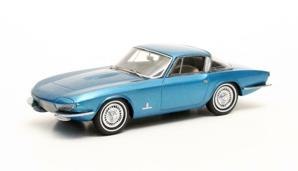 Pininfarina Rondine II  bluee Metallic  1963 (Matrix 1 43  MX50303-031)