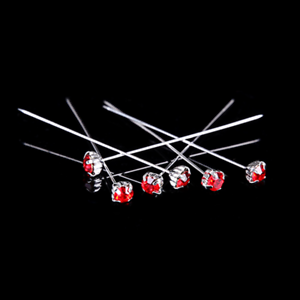 12 36 ou 72 4 cm rouge qualité strass PINS Luxe Crystal Diamonte 1.5 4 mm-afficher le titre d`origine rRCiETJn-07214308-847614255