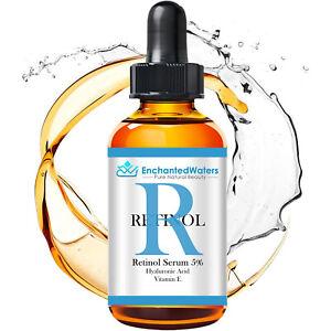 RETINOL VITAMIN A 5% + HYALURONIC ACID + Vitamin E - WRINKLE CREAM / SERUM