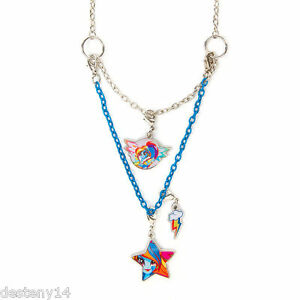 My little pony rainbow dash girls necklace equestria girls 3 in 1 image is loading my little pony rainbow dash girl 039 s aloadofball Gallery