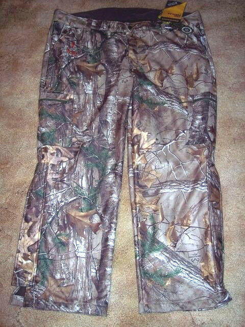 Browning Camo Pants Real Tree Camo Scent Control Hunting Pants 2X Realtree +