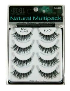 3e58e9cc0ec Image is loading ARDELL-DEMI-WISPIES-NATURAL-MULTIPACK-FALSE-EYELASHES -240494-