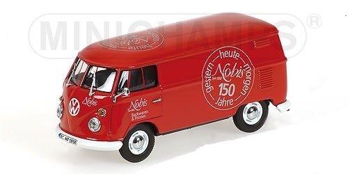 echa un vistazo a los más baratos Minichamps volkswagen t1 Cochero de de de castas – 1963 –  nobis 'L.E. 1008 PCs. - 1 43  alto descuento