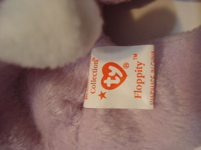 TY Beanie Baby Floppity made made made with RARE PVC Pellets Plush Toy 8eed4e