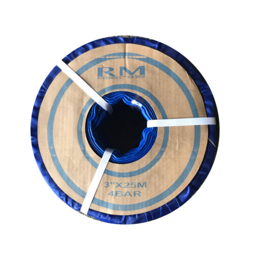 "3"" Flat Hose 25M 50M 100M 4 BAR PVC Flexible Hose Roll"