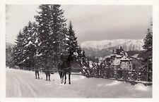 AK, foto, Semmering-skiskjöring quando si raggiunge Hotel, 1931 (D) 5026-8