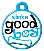Good Boy - Custom Personalized Pet Id Tag For Dog And Cat Collars