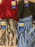 King Men's Mesh Jersey Shorts With Pockets With Tags