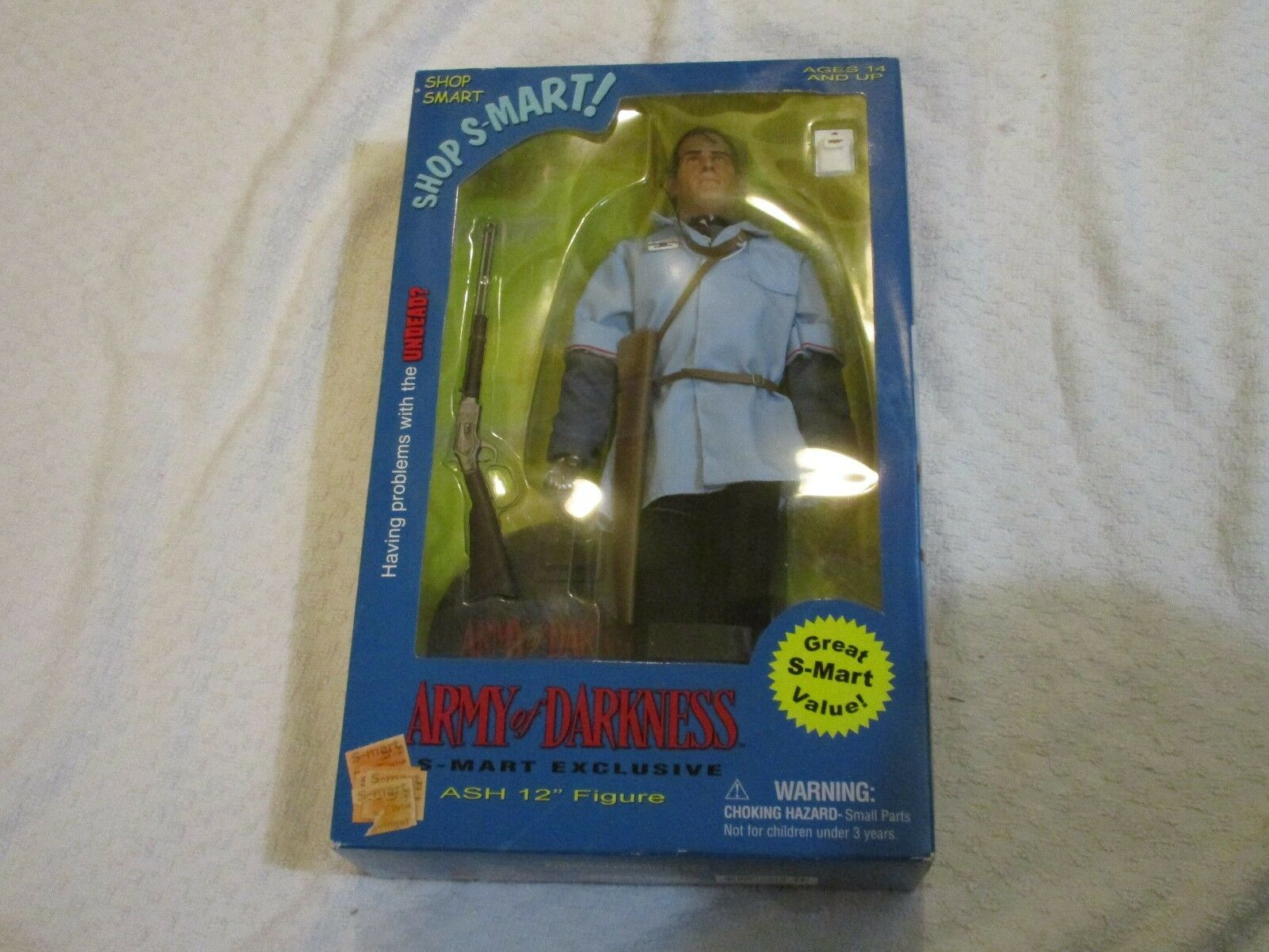 Used Sideshow Collectibles Army of Darkness S-Mart Exclusive Ash 12