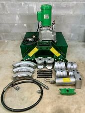 Greenlee 777 Hydraulic Pipe Bender 1 14 4 Rigid Pipe With 960 Pump Mint