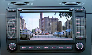 vw video multimedia rear reversing camera interface mfd2 golf passat rh ebay com Volkswagen Navigation DVD Versions VW OEM Navigation
