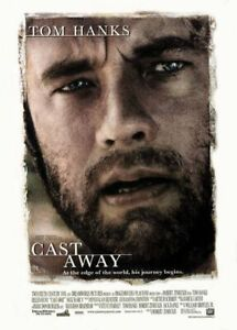 Cast Away Original Filmposter - Zweiseitig