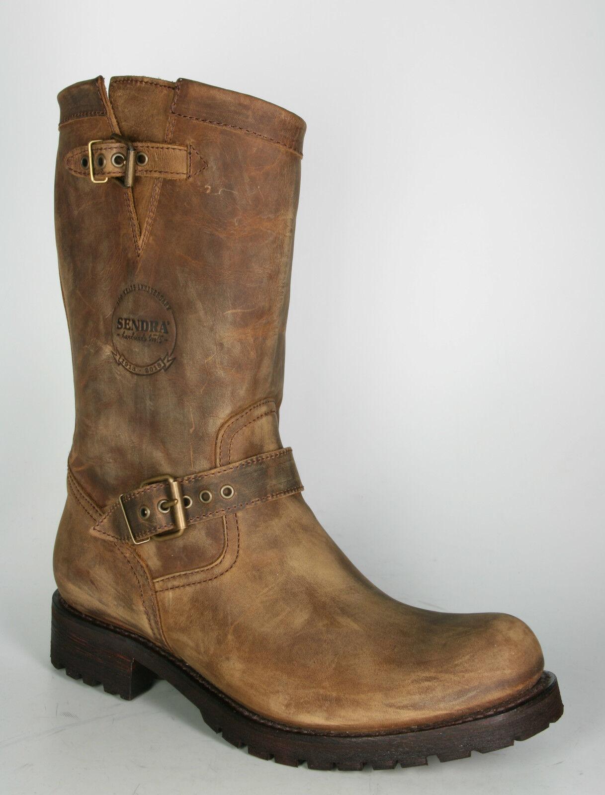 13416 Sendra Boots Engineer Mighty Lavado Braun