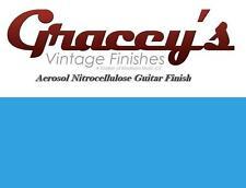 -Maui Blue- Gracey's Vintage Finishes Nitrocellulose Guitar Lacquer Aerosol.