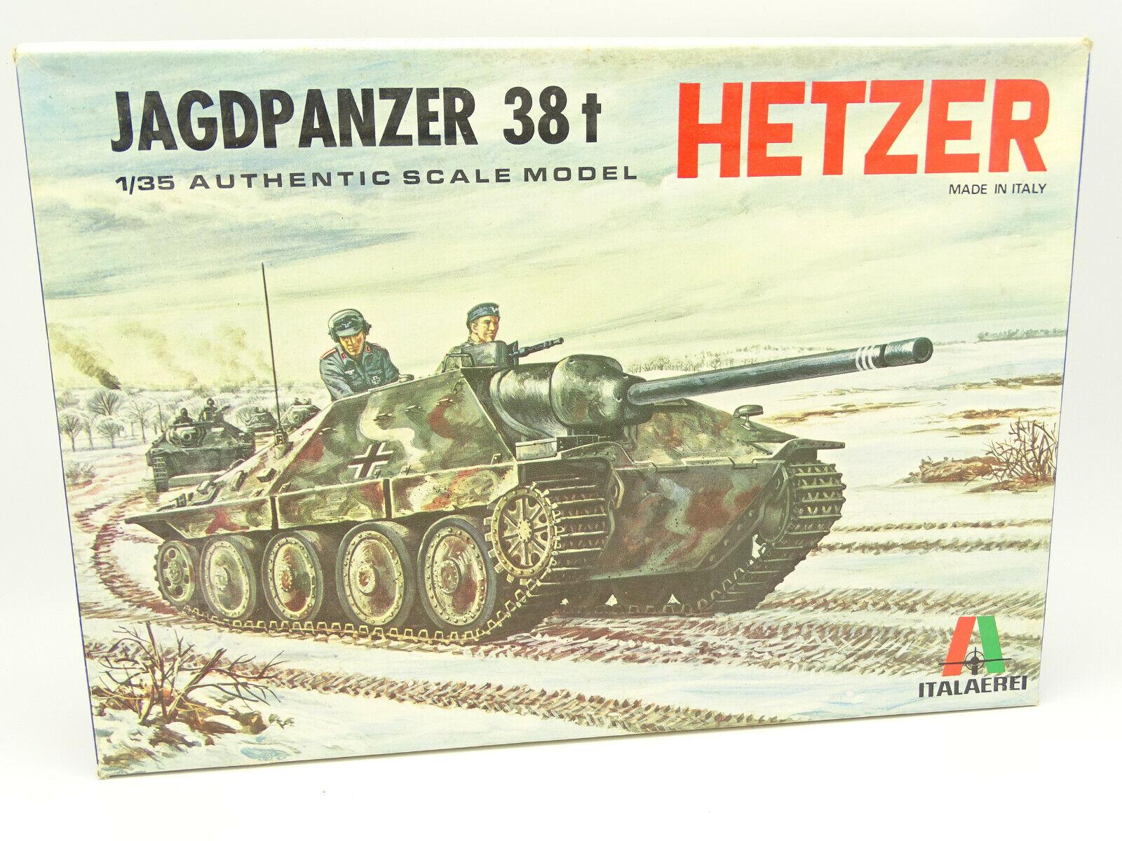 Italaerei Modellino 1 35 Militare Army - Char Tank Jagdpanzer 38 T Hetzer