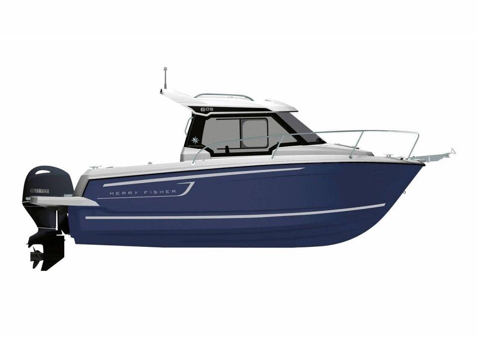 Jeanneau Merry Fisher 605 (Serie 2) m/100 HK..., Motorbåd,