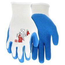 Mcr Safety 9680 Sm Flex Rubber Coated Work Gloves Blue General Purpose 12pr